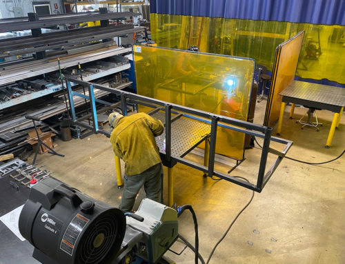 Sigma Design Invests in the Expansion of Its Welding Team and New Welding Technology